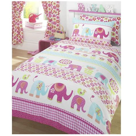 girls single duvet cover pillowcase bedding sets new ebay