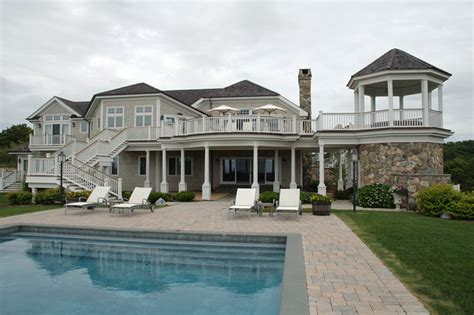 chic home design llc new york htons beach house beach style pool new york by