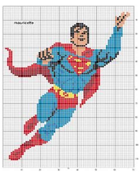 cross stitch pattern superman logo plastic canvas super heros on pinterest superman