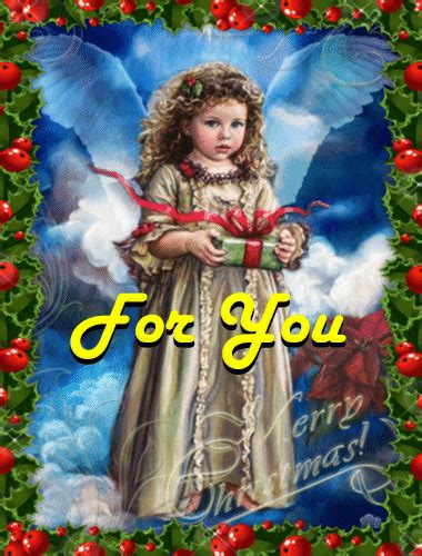 angel giving  gift  angel ecards greeting cards