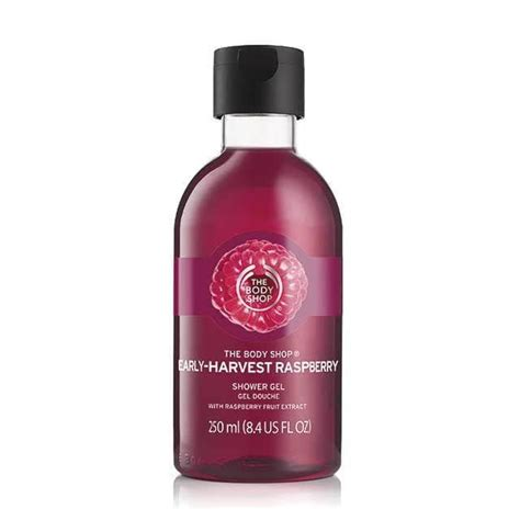Shoewe Gel By Kusuma Shop early harvest raspberry shower gel