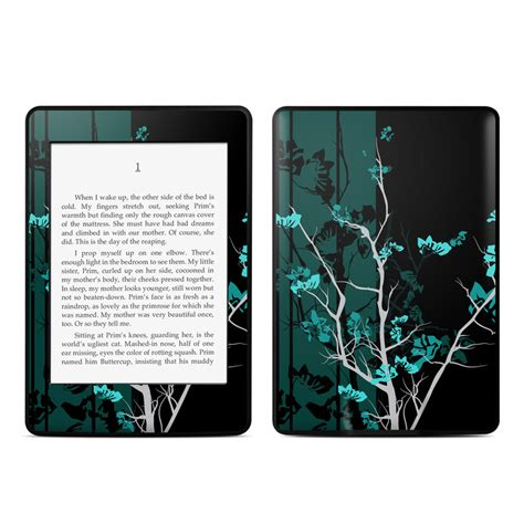 kindle paperwhite blue light filter aqua tranquility amazon kindle paperwhite skin istyles