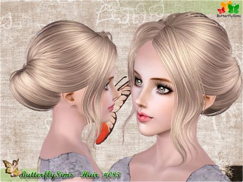 download new hairstyles for sims 3 free hairstyle085 hairstyles b fly provide personalized