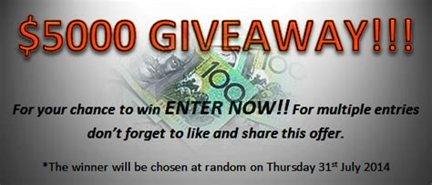Cash Giveaway Competitions - futureplan property win 5 000 cash giveaway australian competitions