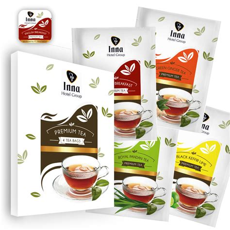 Teh Celup Kotak by Gallery Desain Packaging Teh Celup Sachet Kotak Lop