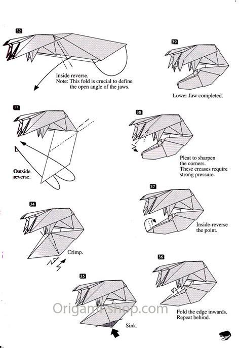 Origami Trout - livre origami skeleton t rex yoshino