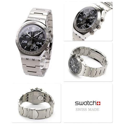 Swatch Irony Chronograp Original swatch ycs564g irony chrono blustery black chronograph