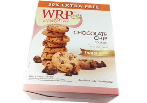 Wrp Cookies Chocolate Chip 240g review wrp cookies chocolate chips yukcoba in