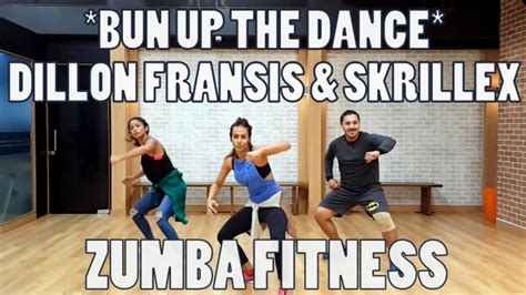 skrillex zumba bun up the dance dillon francis skrillex zumba fitness
