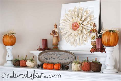 30 beautiful fall mantel displays