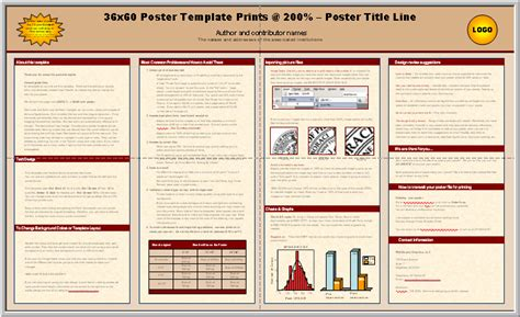 biology poster presentation template posters4research free