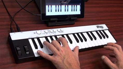 Keyboard Irig ik multimedia irig mini keyboard controller demo
