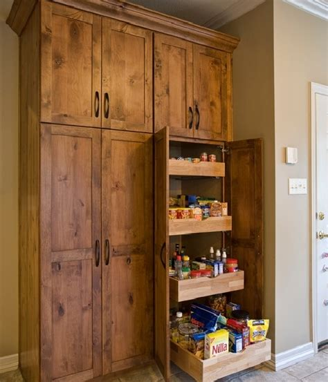 Large Cabinet Pantry Large Freestanding Pantry Cabinet With Pull Out Shelving