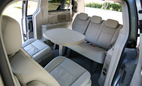 chrysler town and country interior photos car and driver