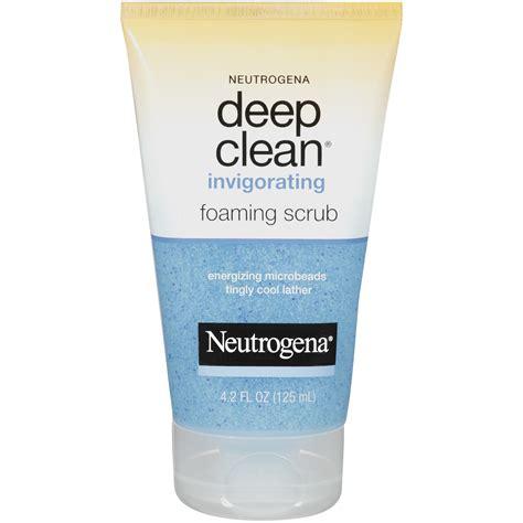 deep clean amazon com neutrogena deep clean invigorating foaming