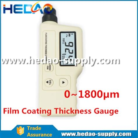 recommended dry film thickness coating thickness gauge or dry film thickness gauge buy