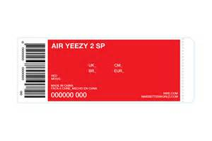 nike shoe box label template kanye giving away 50 pairs of upcoming nike air yeezy iis