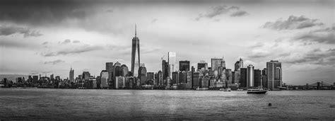 Kemeja Cowok New M City Black Grey manhattan skyline black and white photograph by david morefield