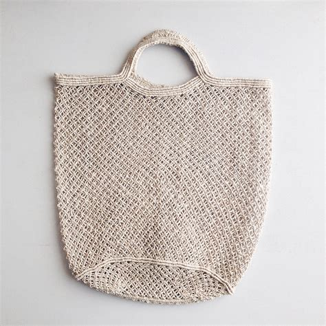 jute macrame bag secret caravan