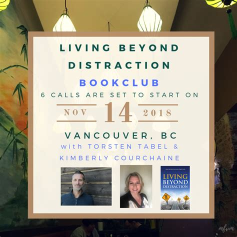 Distraction The Of Living living beyond distraction book club 6 wks