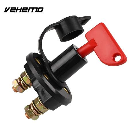 boat battery disconnect vehemo car boat battery disconnect switch master cut off