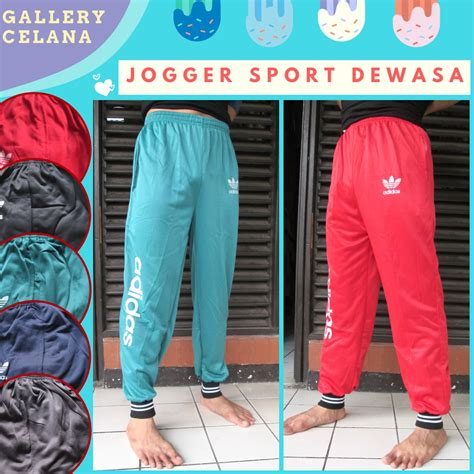 Celana Joger Sport supplier celana jogger sport dewasa panjang murah di