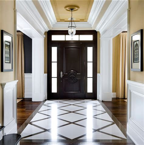 Foyer Paint Colors Benjamin by Family Home With Sophisticated Interiors Home Bunch