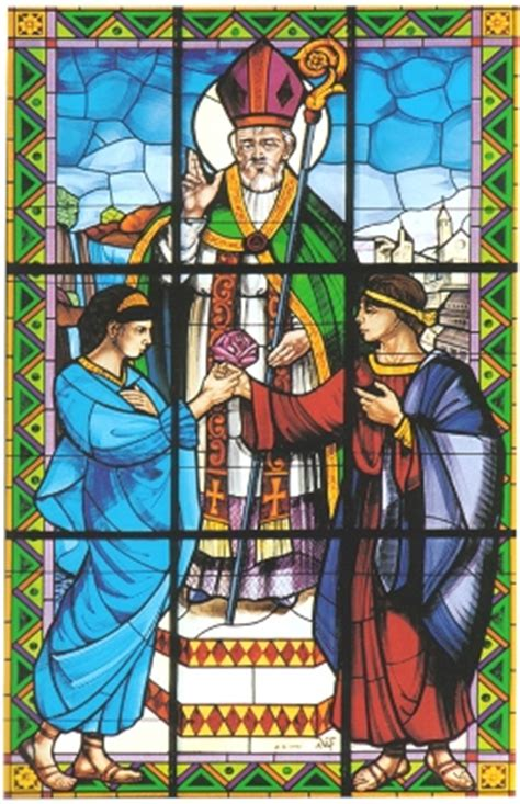 valentines sts presence of the past priest martyr and
