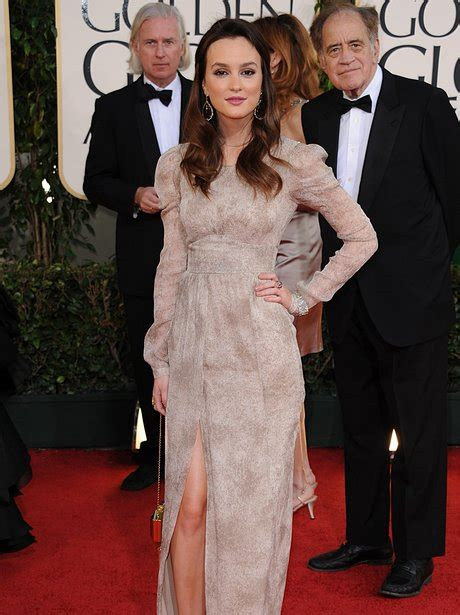 Come With Me Golden Globes Viewing And More by Leighton Meester Gowns At The Golden Globes