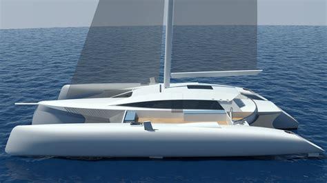 trimaran rudder design video pictures the new performance cruising trimaran