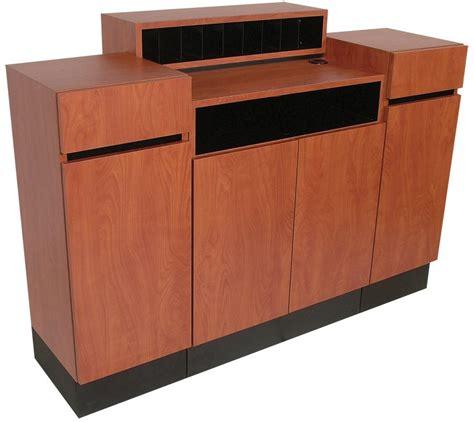 Free Standing Reception Desk Standing Reception Desk