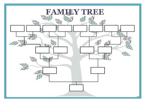 10 best images of blank genogram worksheet 3 generation