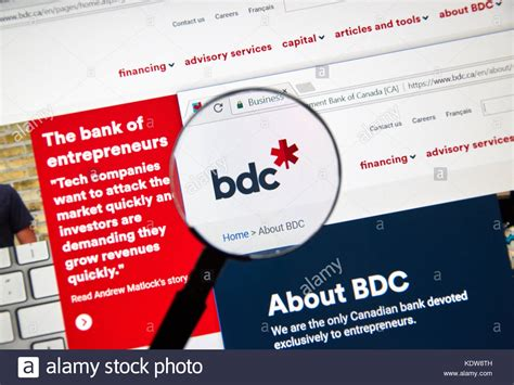 business development bank of canada bdc illustrative development stock photos illustrative
