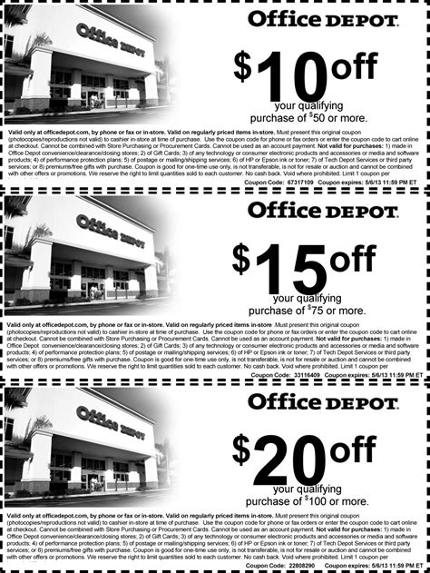 printable office depot coupons august 2015 printable office depot coupons 2015 images