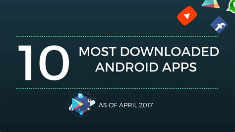 most downloaded android top 10 most downloaded android apps on play store 1 billion list
