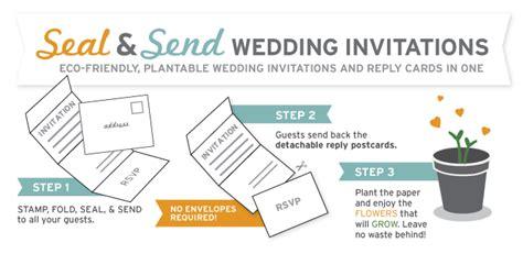 seal and send wedding invitations catalog botanical paperworks