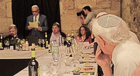 imagenes cena judia la pascua jud 237 a se celebra 400 a 241 os despu 233 s en galicia