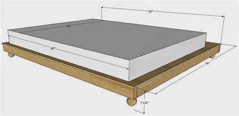 measurements for a size bed frame king size bed frame measurements 28 images
