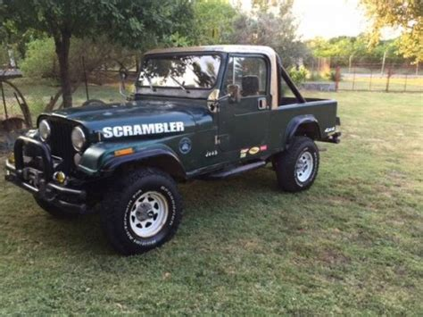 jeep scrambler for sale on craigslist 1982 jeep scrambler cj8 v6 manual for sale houston tx