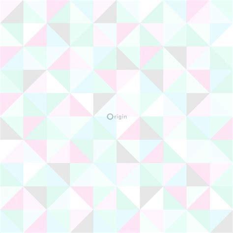 wallpaper pink mint green hd non woven wallpaper triangles light pastel mint green