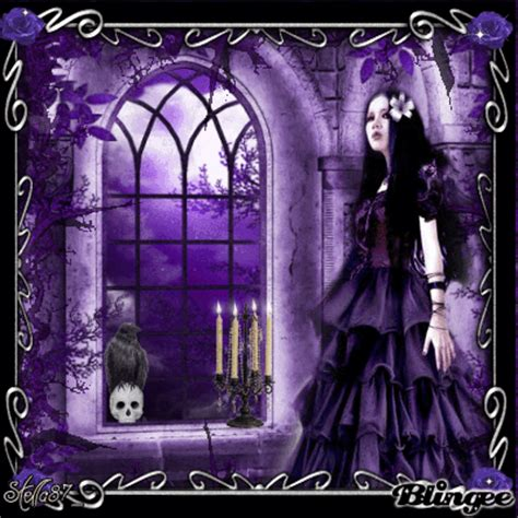 purple and black room gothic purple atmosphere picture 128875416 blingee com