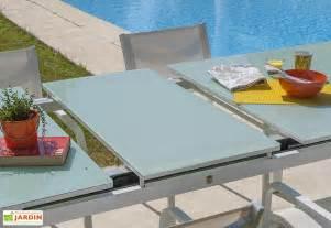 Table Aluminium De Jardin