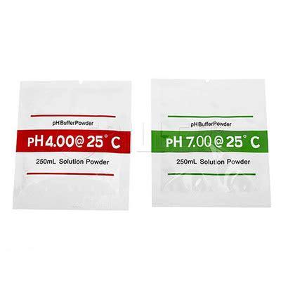 Ph Buffer Powder Serbuk Kalibrasi Ph Meter 1 Set T1310 2 ph meter calibration buffer powder friller
