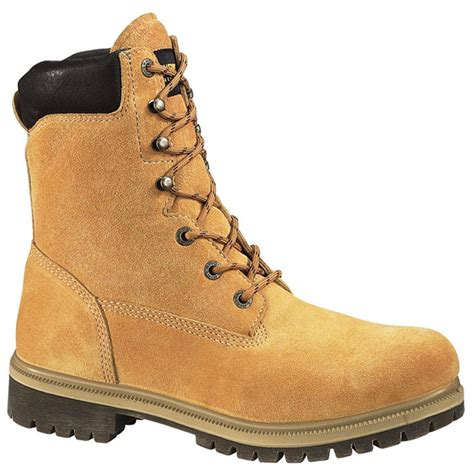mens insulated boots s wolverine 174 8 quot waterproof insulated boots gold