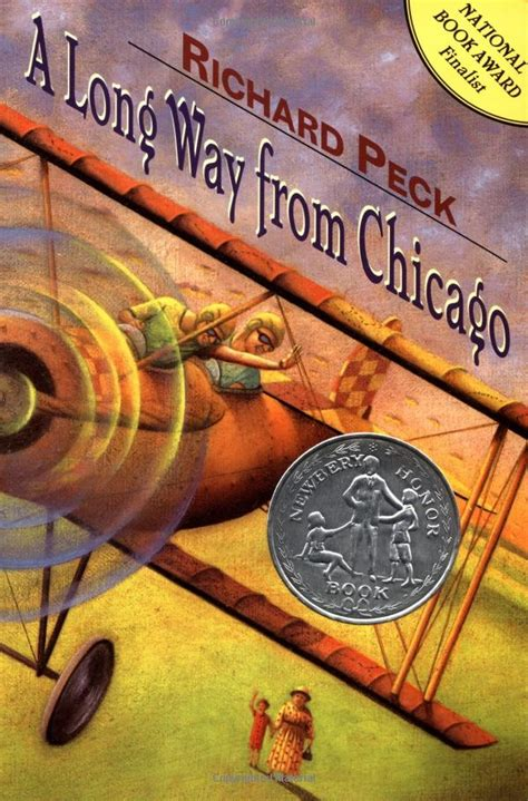 a way from chicago book report a way from chicago richard peck books and libraries