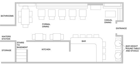 small restaurant floor plan small restaurant kitchen home design ideas pertaining to