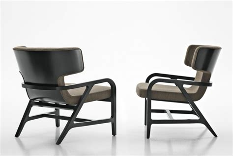 b b armchair maxalto fulgens lounge chair products minima