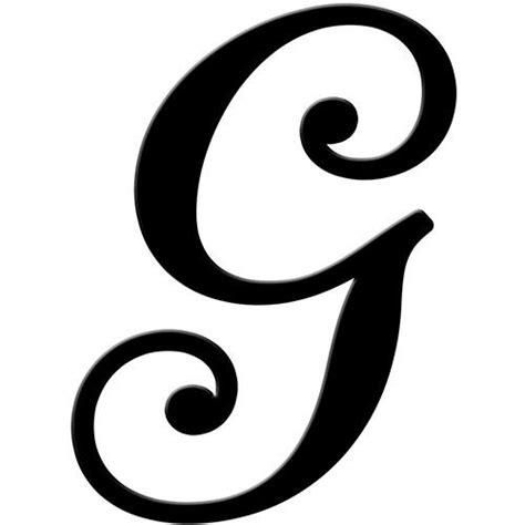 letter g letters and fancy letters on pinterest