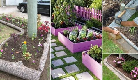 Best Landscape Edging To Use Top 20 Surprisingly Awesome Garden Bed Edging Ideas