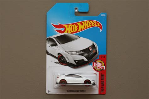 Hotwheels Civic Type R Then And Now wheels 2017 then and now 16 honda civic type r white